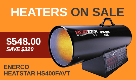 heavy equipment rentals - heater special