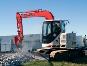 excavator rentals utah