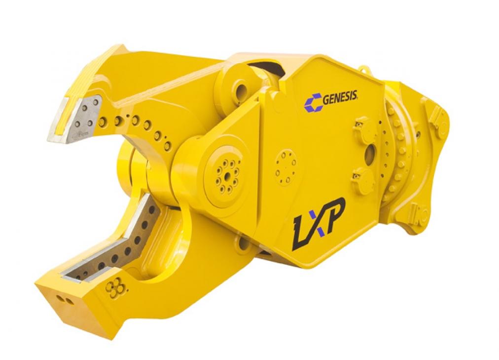 Genesis LXP 300 Sheer Jaw for High Reach Excavator