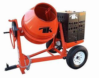 TK Mortar Mixer 8CU FT 8HP